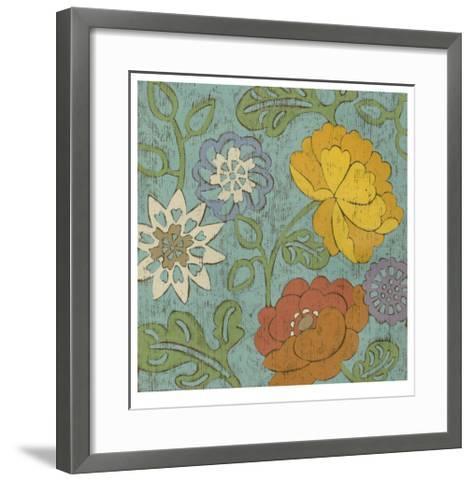 Cottage Chintz I-Chariklia Zarris-Framed Art Print