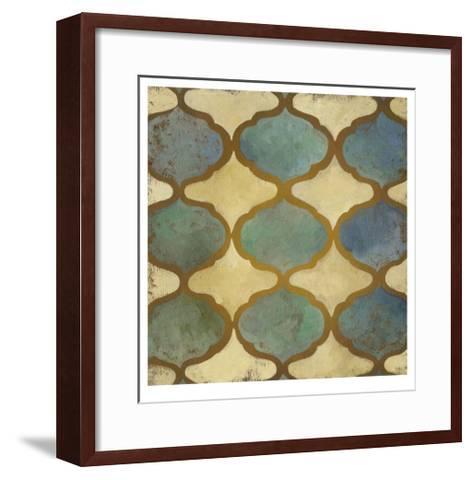 Rustic Symmetry I-Chariklia Zarris-Framed Art Print