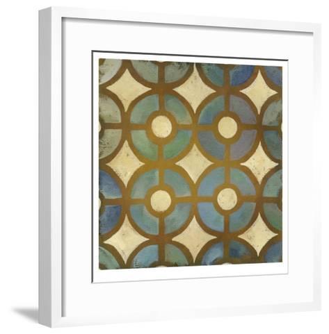 Rustic Symmetry III-Chariklia Zarris-Framed Art Print