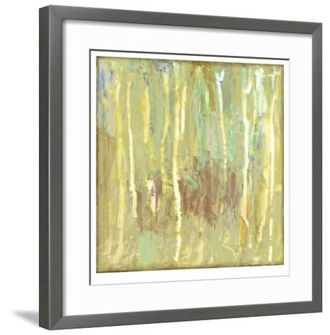 Lime Fusion I-Jennifer Goldberger-Framed Art Print