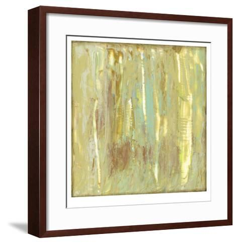 Lime Fusion II-Jennifer Goldberger-Framed Art Print
