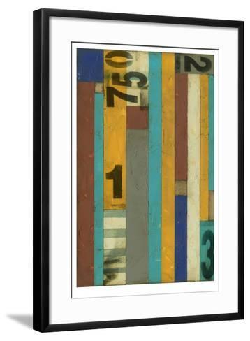 Primary Numbers I-Jennifer Goldberger-Framed Art Print