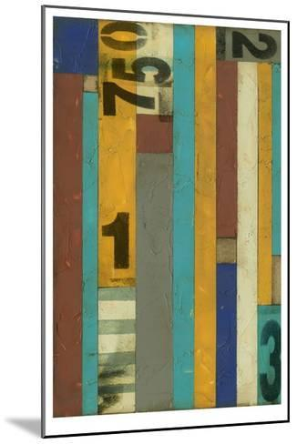 Primary Numbers I-Jennifer Goldberger-Mounted Limited Edition