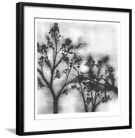 Silvery Trees I-Jennifer Goldberger-Framed Art Print