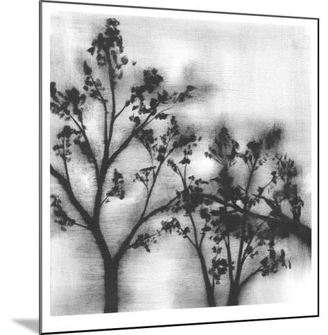 Silvery Trees I-Jennifer Goldberger-Mounted Limited Edition