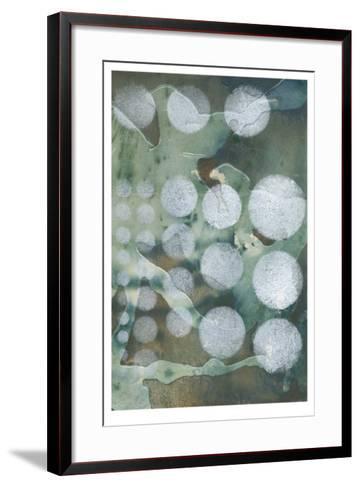 Topo-Graphic II-Jennifer Goldberger-Framed Art Print
