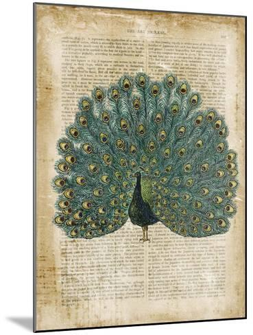 Antiquarian Birds V--Mounted Giclee Print