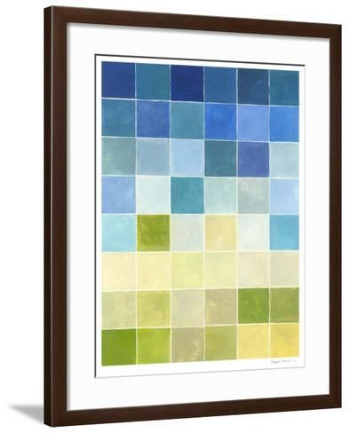 Pixilated Landscape II-Megan Meagher-Framed Art Print