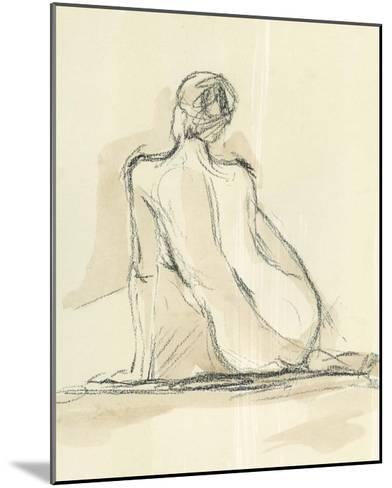 Neutral Figure Study III-Ethan Harper-Mounted Giclee Print