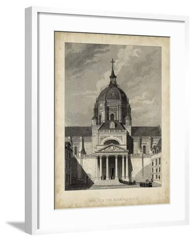 Eglise de Sorbonne-A^ Pugin-Framed Art Print