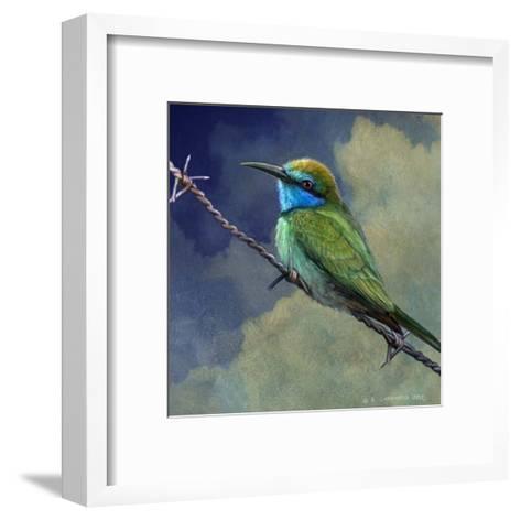Bee Eater-Chris Vest-Framed Art Print
