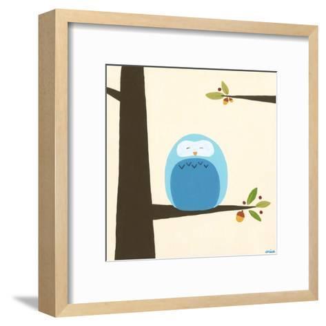 Orchard Owls III-Erica J^ Vess-Framed Art Print