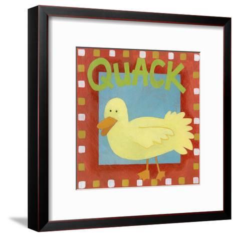 Quack-Megan Meagher-Framed Art Print