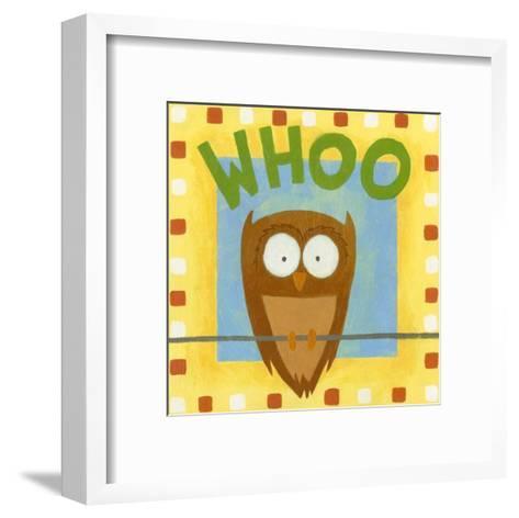 Whoo-Megan Meagher-Framed Art Print