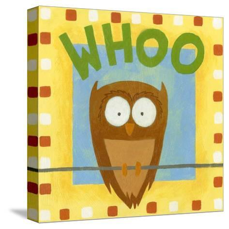 Whoo-Megan Meagher-Stretched Canvas Print