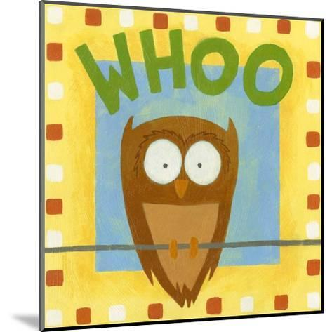 Whoo-Megan Meagher-Mounted Art Print