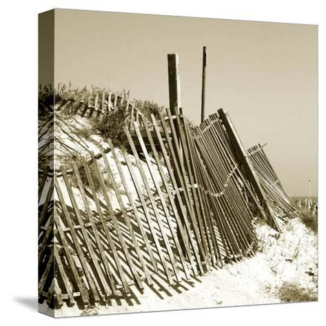 Fences in the Sand I-Noah Bay-Stretched Canvas Print