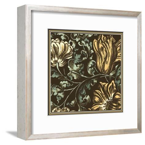 Fanciful Floral II--Framed Art Print