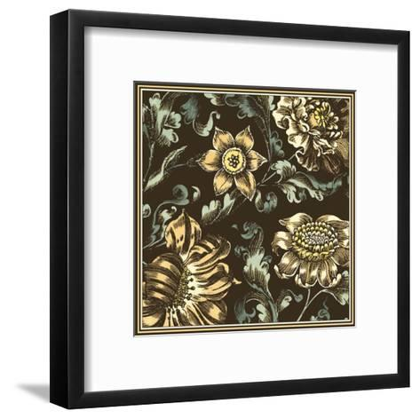Fanciful Floral III--Framed Art Print
