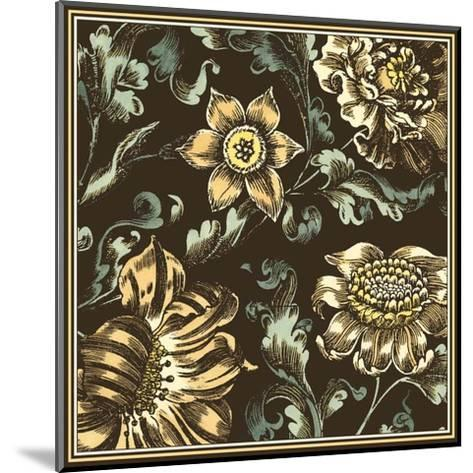 Fanciful Floral III--Mounted Art Print