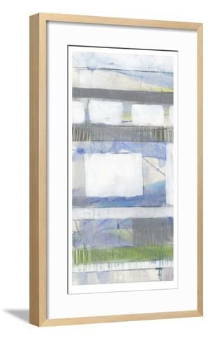 Fluid Neutrals I-Jennifer Goldberger-Framed Art Print