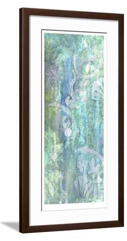 Pastel and Lace I-Jennifer Goldberger-Framed Art Print