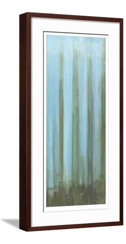 Sky Lights II-Jennifer Goldberger-Framed Art Print