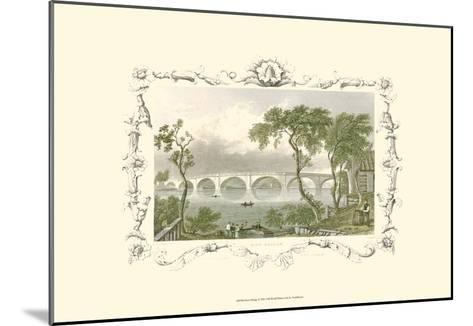 Kew Bridge-William Tombleson-Mounted Art Print