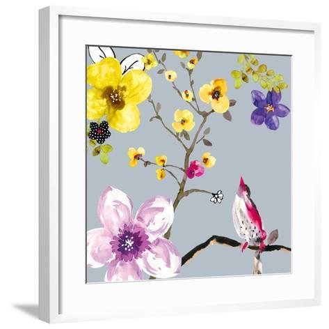 Blossom Birds I-Sandra Jacobs-Framed Art Print