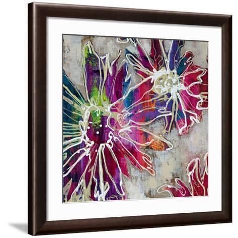 Floral Kick II-Bridges-Framed Art Print