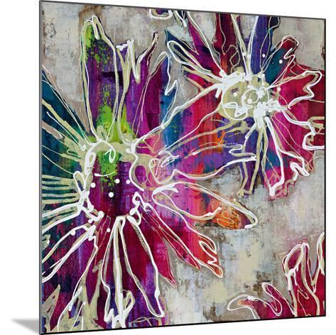 Floral Kick II-Bridges-Mounted Art Print