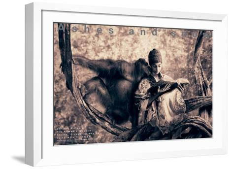 Orangatan Story, Mexico City-Gregory Colbert-Framed Art Print