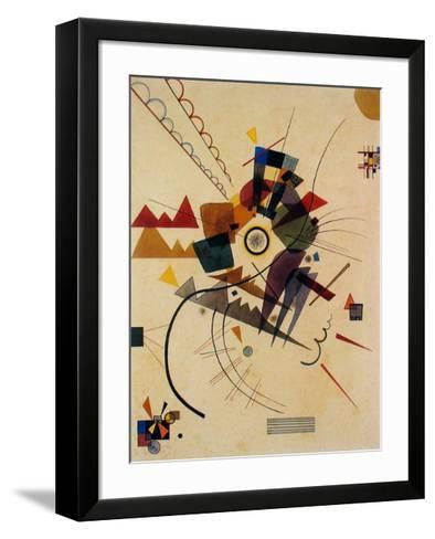 Ringsum 1924-Wassily Kandinsky-Framed Art Print