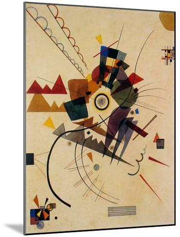 Ringsum 1924-Wassily Kandinsky-Mounted Art Print