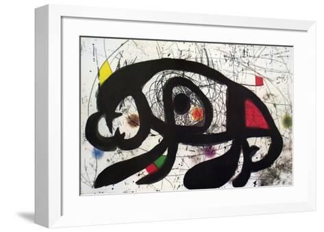 Untitled-Joan Mir?-Framed Art Print
