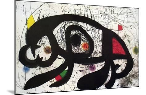 Untitled-Joan Mir?-Mounted Collectable Print