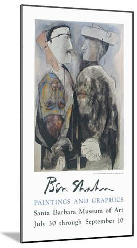 Paintings and Graphics-Ben Shahn-Mounted Art Print