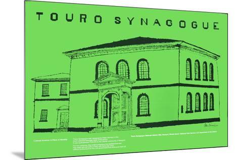 Touro Synagogue-Ben Shahn-Mounted Art Print