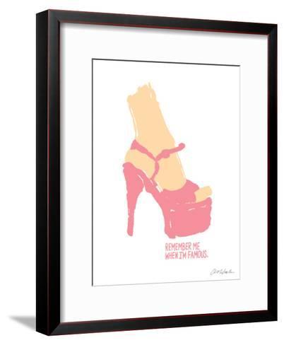 Remember Me When I'm Famous-Ashkahn-Framed Art Print