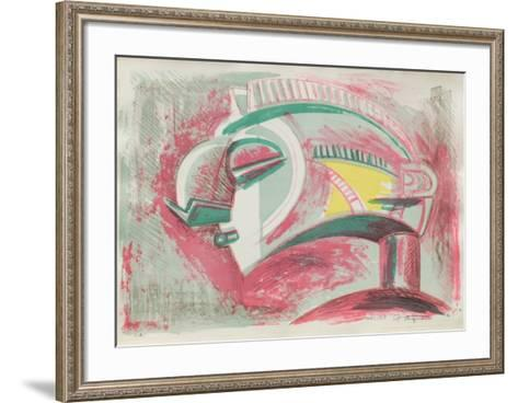 Etude 3-Raul Anguiano-Framed Art Print