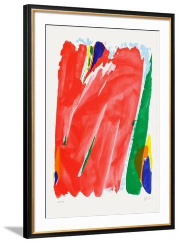 Cinquantenaire Des J.O.-Olivier Debre-Framed Art Print