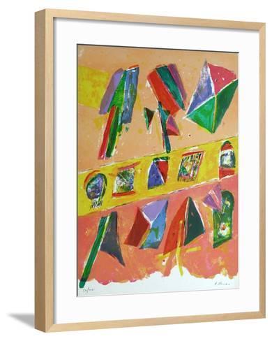 Composition IV-Daniel Humair-Framed Art Print