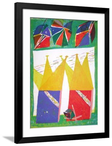 Composition VII-Daniel Humair-Framed Art Print