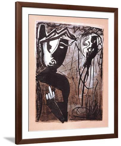 Jeux De Doigts-Max G^ Kaminski-Framed Art Print