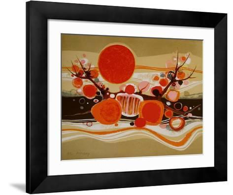 73 La Plage-Fr?d?ric Menguy-Framed Art Print