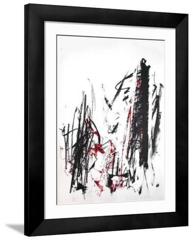 Composition III-Joan Mitchell-Framed Art Print