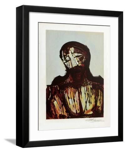Portrait du Christ-David Alfaro Siqueiros-Framed Art Print