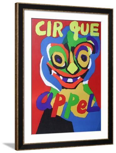 Cirque-Karel Appel-Framed Art Print
