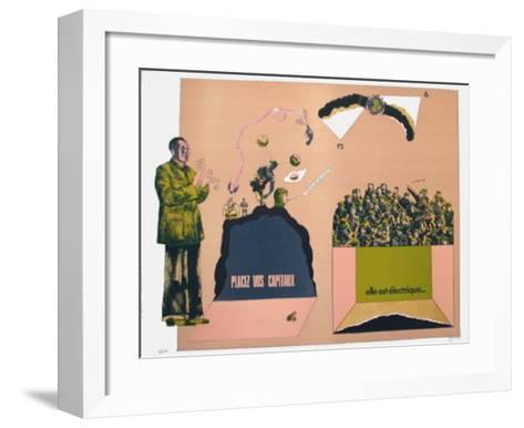 Sans D?magogie 19-Antonio Segui-Framed Art Print