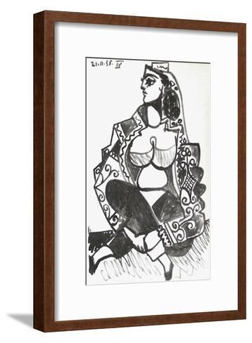 Carnet de Californie 08-Pablo Picasso-Framed Art Print